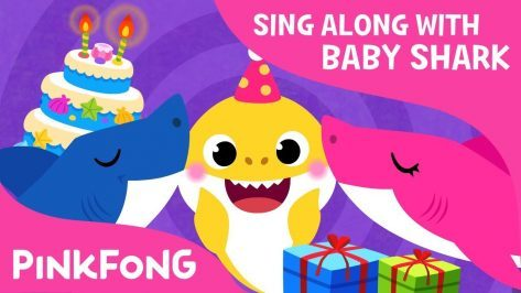 Baby Sharks Birthday Sing Along with Baby Shark Pinkfong Songs for Children
