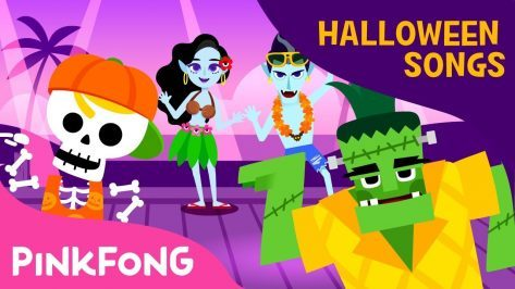 Ghosts on the Coast Halloween Songs Pinkfong Songs for Children