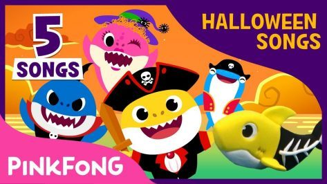 Halloween Baby Shark Compilation Baby Shark Halloween Song Pinkfong Songs for Children