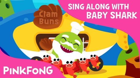 Hot Clam Buns Sing Along with Baby Shark Pinkfong Songs for Children