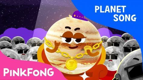 Jupiter Planet Song Pinkfong Songs for Children