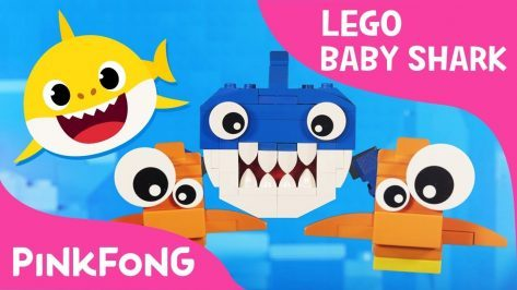 Lego Version of Baby Shark with Pixar Artists Family Animal Songs Pinkfong Songs for Children