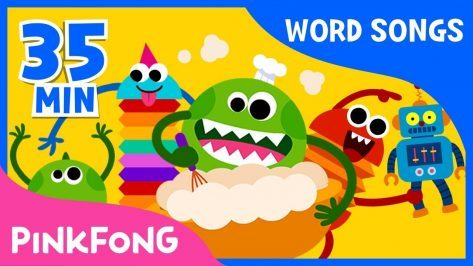 Lets learn new words Word Songs Compilation Pinkfong Songs for Children