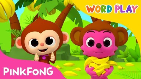 Monkey Banana Word Play Pinkfong Songs for Children