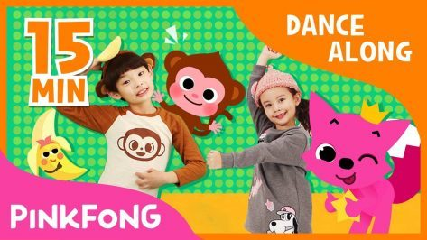 Monkey Banana and more Dance Along Dance Compilation Pinkfong Songs for Children
