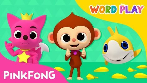 Monkey Banana and more Word Play Compilation Pinkfong Songs for Children