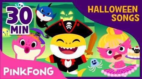Pirate Baby Shark and more Best Halloween Songs Compilation Pinkfong Songs for Children