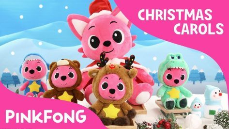 Rudolph the Red Nosed Reindeer Christmas Carols Pinkfong Plush Pinkfong Songs for Children
