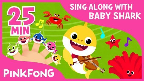 Shark Finger Family more Sing Along with Baby Shark Compilation Pinkfong Songs for Children