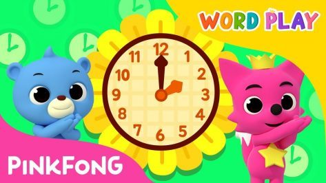 Telling Time Word Play Pinkfong Songs for Children