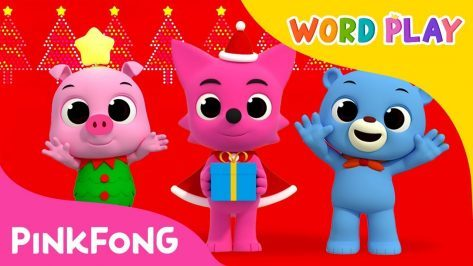 We Wish You a Merry Christmas Word Play Pinkfong Songs for Children