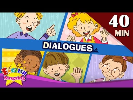 english dialogues for kids