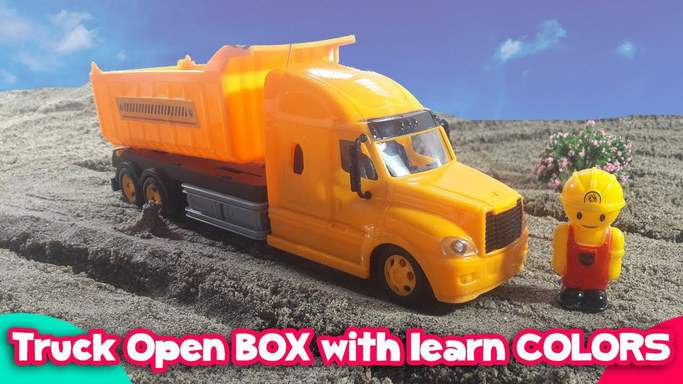 open truck toy video