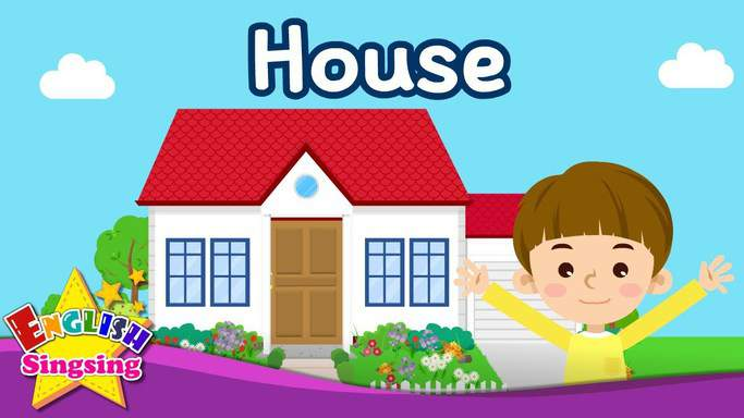 parts of the house for kids